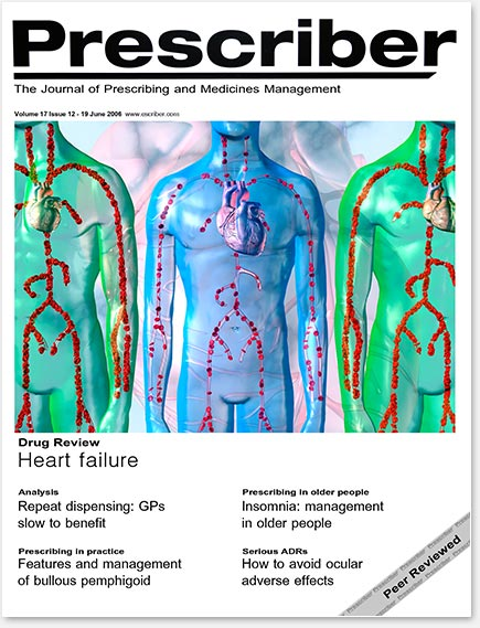 Prescriber Cover - Heart Failure